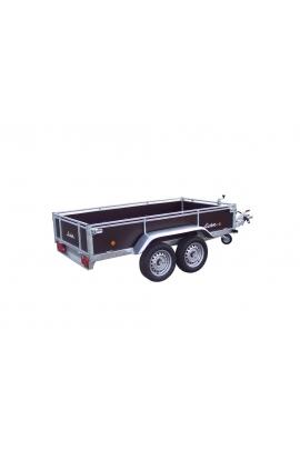 Remorque bois LIDER 2m50 freinée (2 essieux)