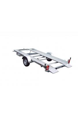 Porte-voiture LIDER avec petites rampes PTC 1300kg