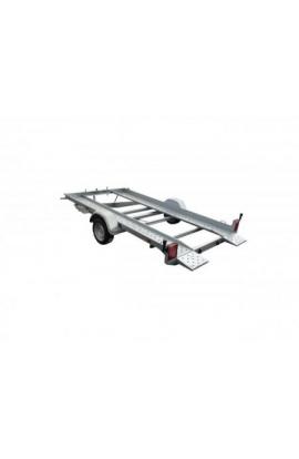 Porte-voiture LIDER avec petites rampes PTC 1600kg
